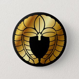 日本のな家紋(KAMON)の記号 5.7CM 丸型バッジ