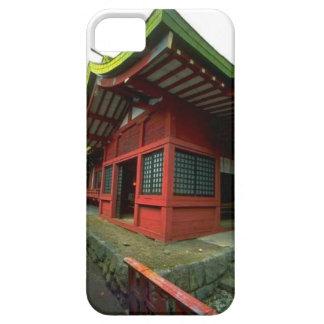 日本のな寺院の神社 iPhone SE/5/5s ケース