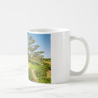 日本のな庭の松の木 コーヒーマグカップ