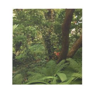 日本のな庭 ノートパッド