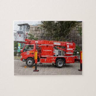 日本のな普通消防車 ジグソーパズル