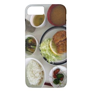 日本のな朝食用食品ボールの写真のiPhoneの場合 iPhone 8/7ケース
