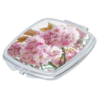 日本のな桜のコンパクトの鏡