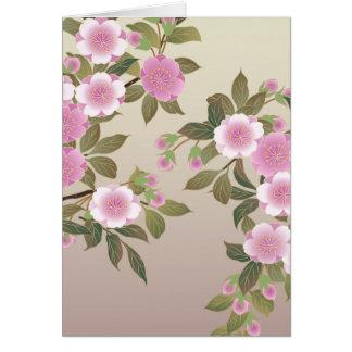 日本のな桜 カード
