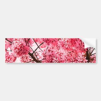 日本のな桜(2013年) バンパーステッカー