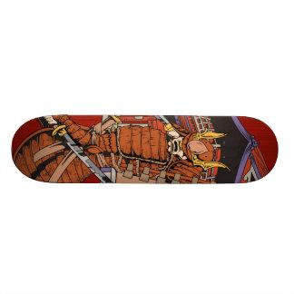 日本のな武士のスケートボードのデッキ スケートボード