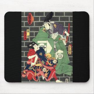日本のな武士 マウスパッド