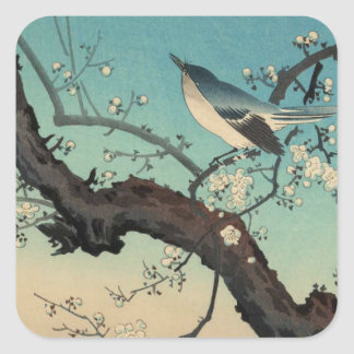 日本のな浮世絵の芸術(Kouitsu Tsuchiya) スクエアシール