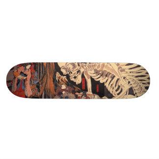 日本のな浮世絵の芸術vol.1 18.7cm ミニスケートボードデッキ