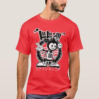 日本のな漫画のおもしろいのワイシャツ Tシャツ