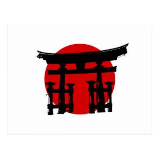 日本のな神社 ポストカード