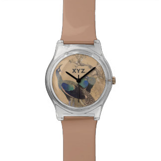 日本のな芸術のカスタムなモノグラムの腕時計 腕時計