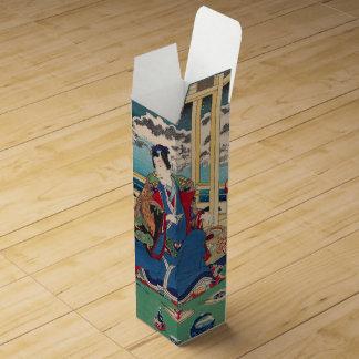 日本のな芸術のカスタムのワイン用化粧箱 ワインギフトボックス
