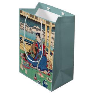 日本のな芸術のギフトバッグ ミディアムペーパーバッグ