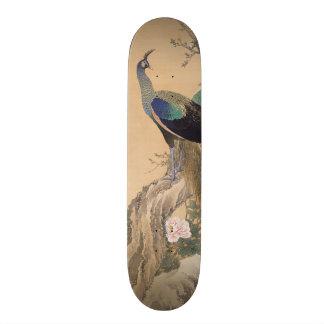 日本のな芸術のスケートボード 18.1CM オールドスクールスケートボードデッキ