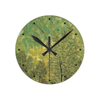 日本のな芸術の柱時計 ラウンド壁時計