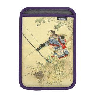 日本のな芸術-長弓および矢を持つ武士 iPad MINIスリーブ