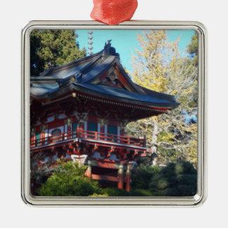 日本のな茶庭サンフランシスコ メタルオーナメント