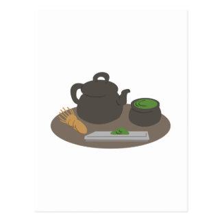 日本のな茶道 ポストカード