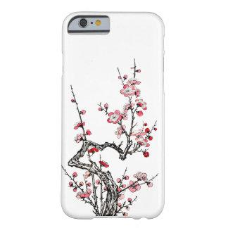 日本のな野生プラム花びらのiPhone6ケース Barely There iPhone 6 ケース