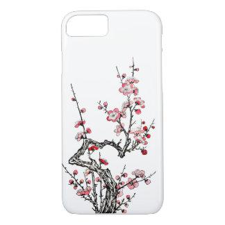 日本のな野生プラム花びらのiPhone 7の場合 iPhone 8/7ケース
