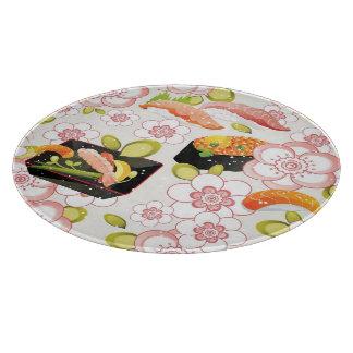 日本のな食糧: 寿司パターン2 カッティングボード