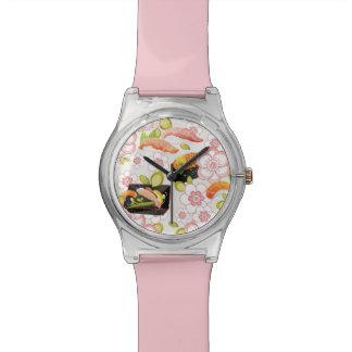 日本のな食糧: 寿司パターン2 腕時計