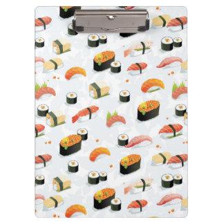 日本のな食糧: 寿司パターン クリップボード