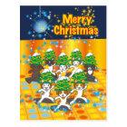日本のクリスマス - Japanese Christmas ポストカード