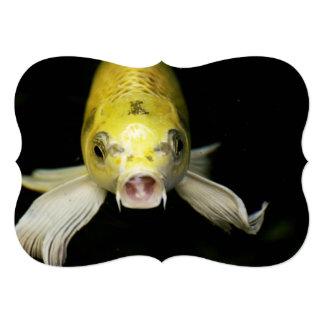 日本のコイの魚 カード