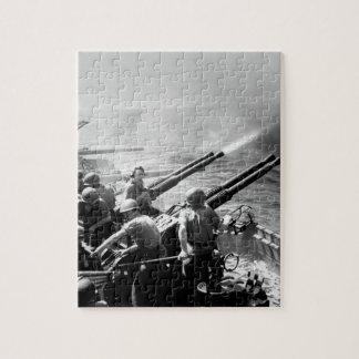 日本のタスクフォース58の侵略。  40mm_Warイメージ ジグソーパズル