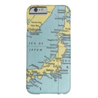 日本のヴィンテージの地図 BARELY THERE iPhone 6 ケース