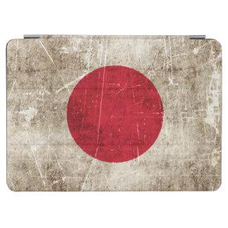 日本のヴィンテージの老化させ、傷付けられた旗 iPad AIR カバー