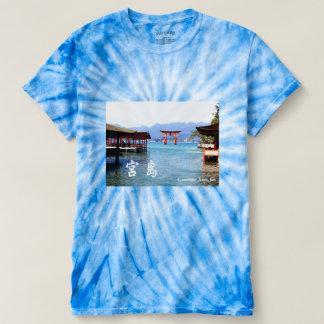 日本の広島にある世界遺産宮島の境内より☆大鳥居を望む☆ Tシャツ