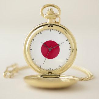 日本の愛国心が強い壊中時計の旗 ポケットウォッチ