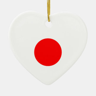 日本の旗 セラミックオーナメント