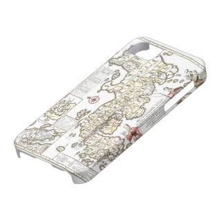 日本の旧式な地図が付いているIphoneカバー iPhone SE/5/5s ケース