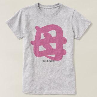 日本の漢字の母ティー Tシャツ