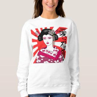 日本の芸者 スウェットシャツ