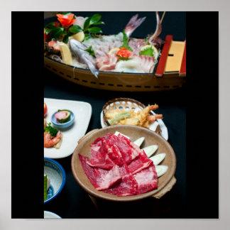 日本の食糧、日本のな食糧 ポスター