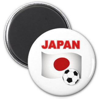 日本サッカーのフットボール マグネット