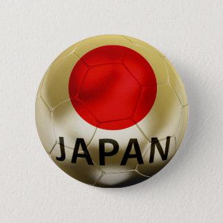 日本フットボール 5.7CM 丸型バッジ