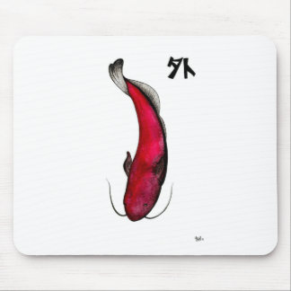 日本人の無効のナマズ マウスパッド