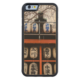 日本人の神社のランタン CarvedメープルiPhone 6バンパーケース