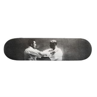 日本人のJudoka JigoroカノKyuzo Mifueの柔道 20cm スケートボードデッキ