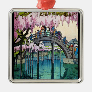 日本人のKameido橋吉田の涼しい東洋の芸術 メタルオーナメント