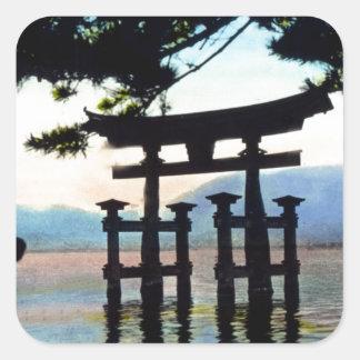 日本人のTorriのヴィンテージの昔ながらのなゲート スクエアシール