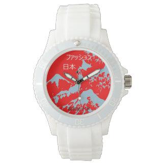 日本人ファッション高斜め十字スコットランド 腕時計