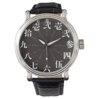 日本古い漢字のスタイル[太字] 腕時計