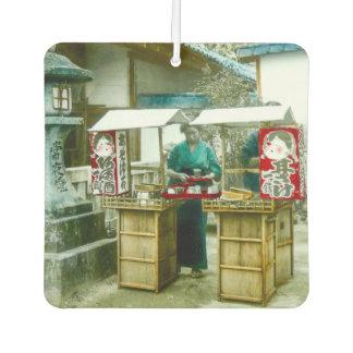 日本古く素朴なヴィンテージの為の販売人 カーエアーフレッシュナー